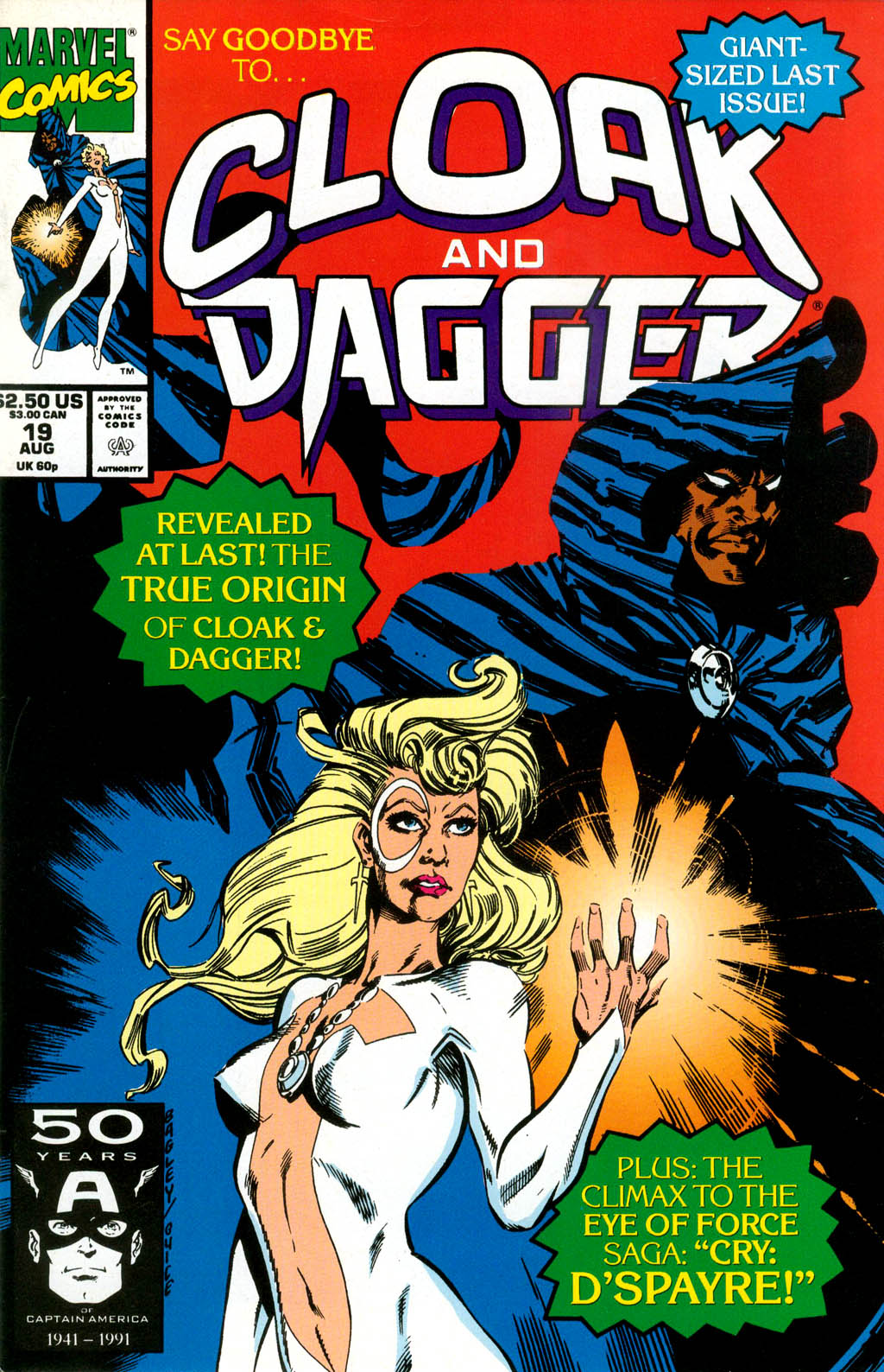 Cloak and Dagger (1990) 19 Page 1