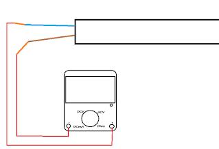 Pengecekan Instalasi cara pasang saklar ganda/Seri dengan AVO meter