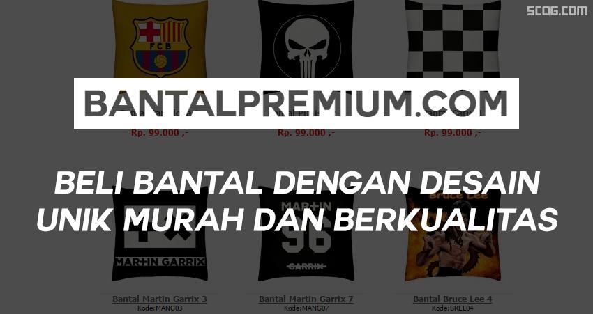Miliki Bantal Dengan Desain Unik di Bantalpremium.com