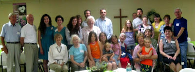 A group photo of the Mid Michigan Celiac Disease Support Group