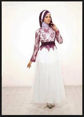 model-gamis-muslim-brokat