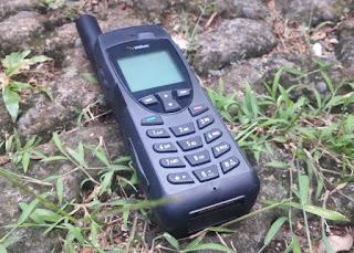 Hape Satelit Iridium 9555 Seken Mulus Fullset Bonus Tas Iridium