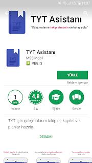 tyt mobil uygulama