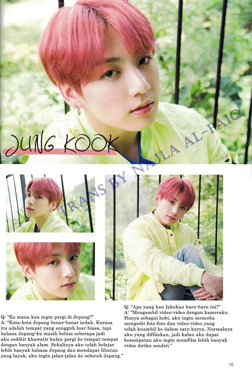 BTS Japan Official Fanclub Magazine Vol. 6 (page 10) HD