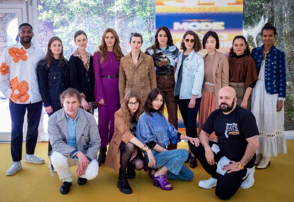 Charlotte Casiraghi attended the International Festival of Fashion and Fashion Accessories at Villa Noailles