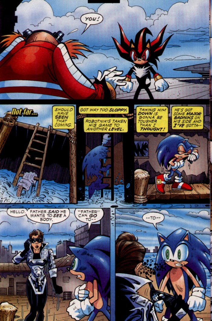 Read online Sonic The Hedgehog comic -  Issue #132 - 17