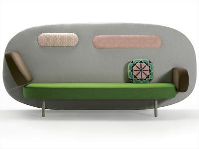 Float Sofa greens