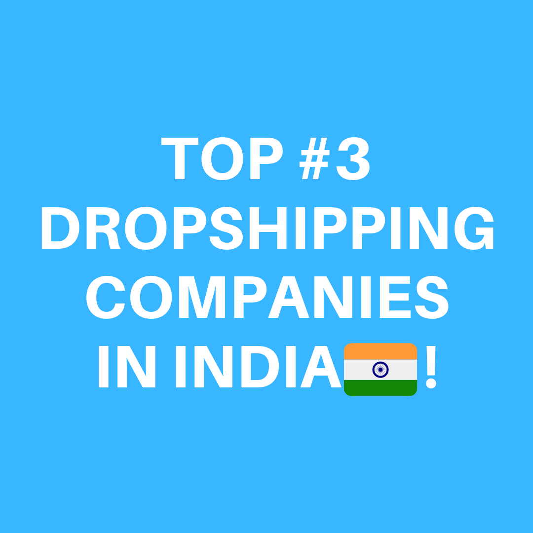 DROPSHIPPING IN INDIA | TOP 3 DROPSHIPPING COMPANIES IN INDIA