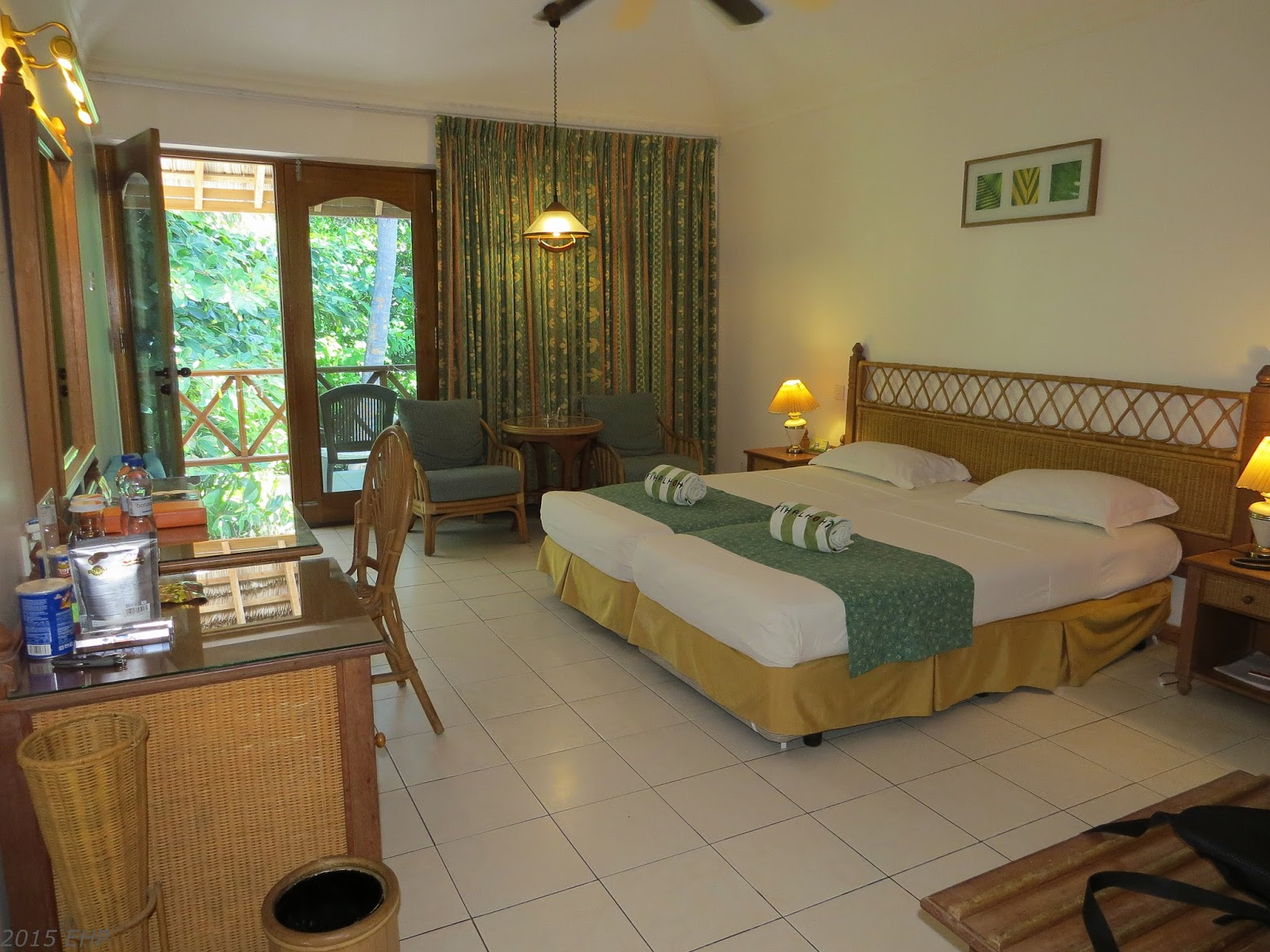 Zimmer im Comfort-Bungalow auf Fihalhohi