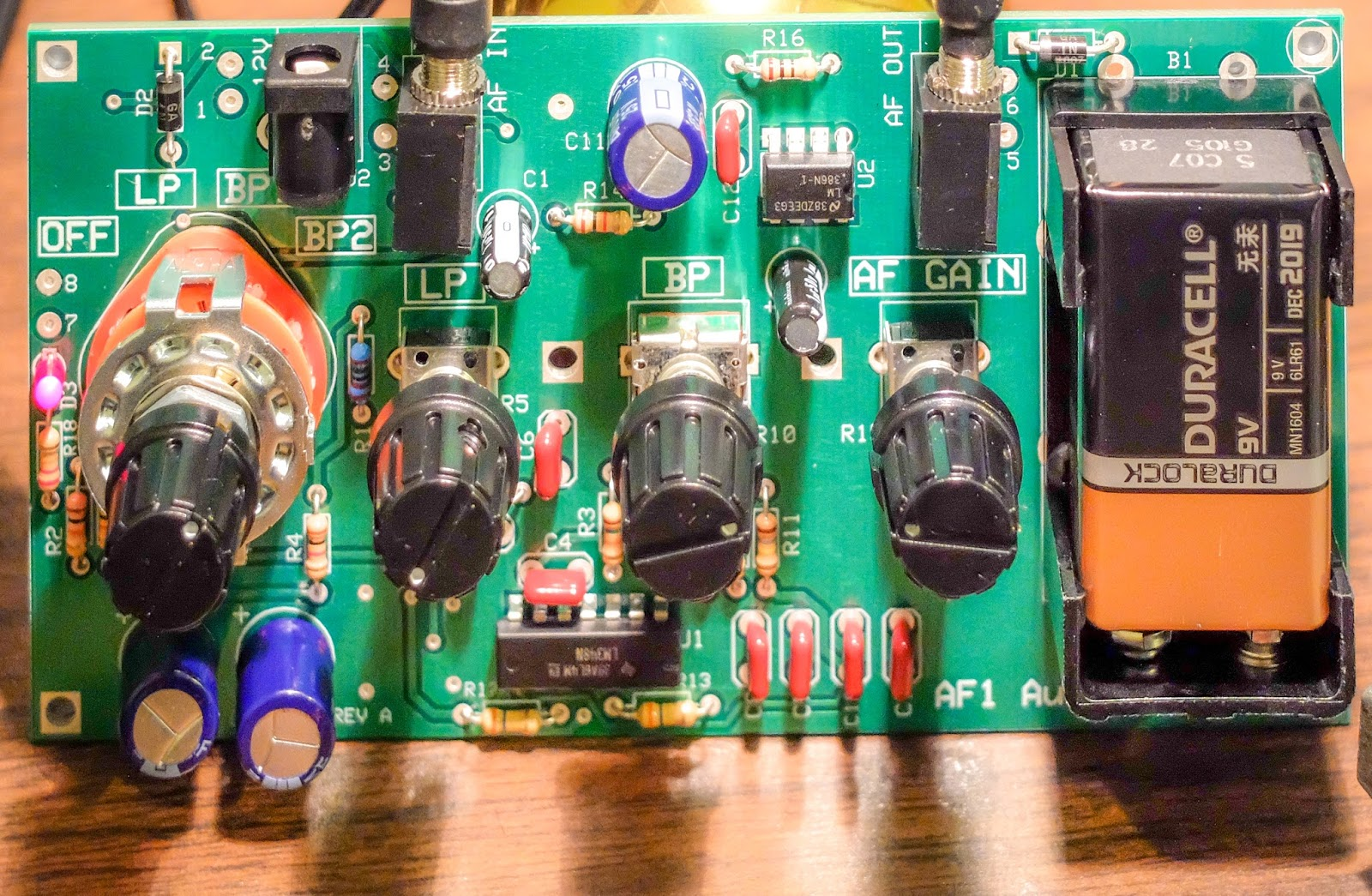 Ten tec century 21 archives amateurradio the elecraft af 1 is an excellent addition i think it is going to serve me well with my vintage radio now to find a project box to fit it freerunsca Images
