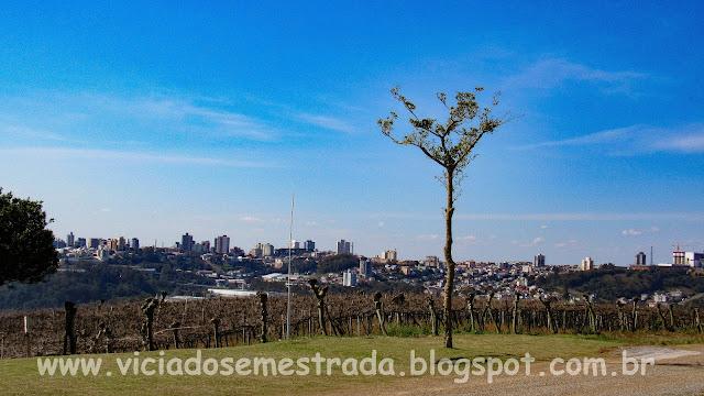 Vista da cidade de Bento Gonçalves