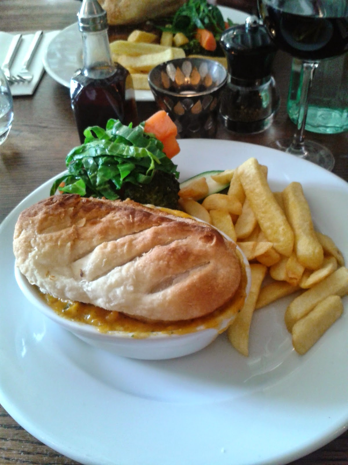 Bush Inn, St. Hilary Fisherman's Pie