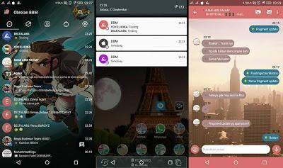 Download BBM DELTA Transparan APK Terbaru