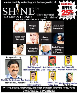SHINE SALON & CLINIC VIZAG