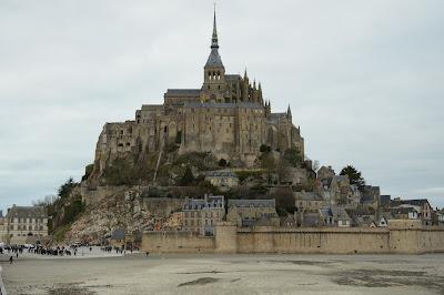 Mont Saint Michel invierno