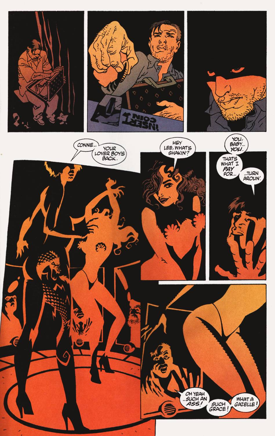 Read online 100 Bullets comic -  Issue #4 - 12