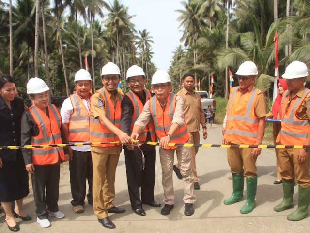 Pemda Halmahera Utara Canangkan Pengerjaan Jalan Dokulamo ke Ampulea