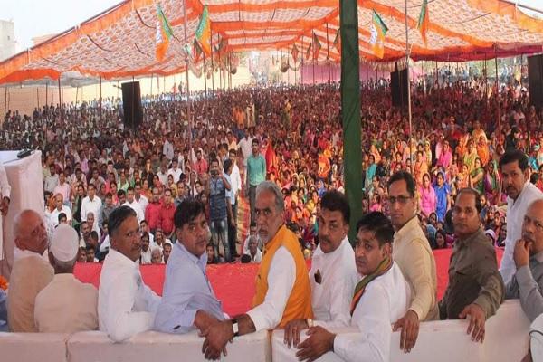minister-krishanpal-gurjar-and-devender-chaudhary-sewerage-work-started