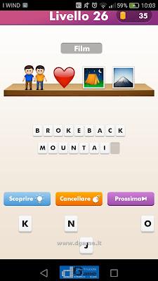 Emoji Quiz soluzione livello 26
