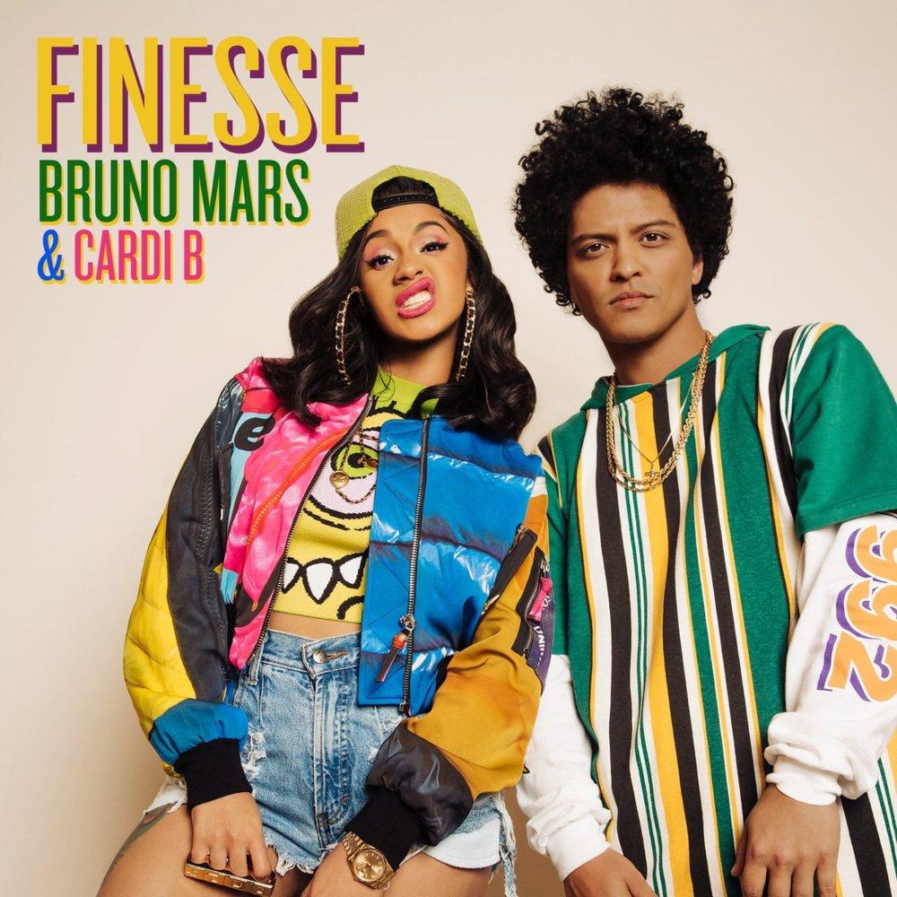 Lirik Lagu Finesse - Bruno Mars Feat Cardi B DJ Remix dari album 24k magic, download album dan video mp3 terbaru 2018 gratis