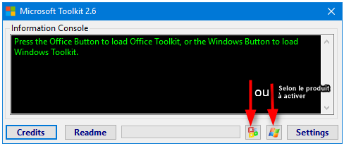 Activateur Microsoft Toolkit