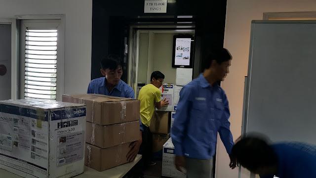 công ty uy tín trong chuyển văn phòng tại Hà Nội