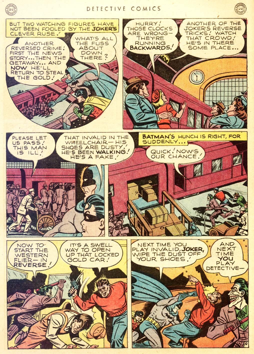 Read online Detective Comics (1937) comic -  Issue #128 - 12
