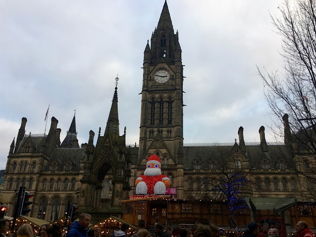 Manchester Christmas Market Santa