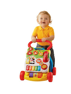 VTech First Steps Baby Walker, stimulate baby learning to walk, attractive, £17.99