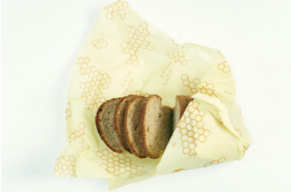 Sustainable food storage. Photo courtesy of Bee's wrap.