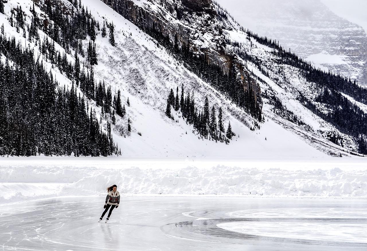 Winter Skating Snow Sports