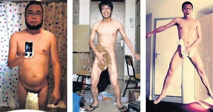 Chinesische Netizen ziehen sich aus für Ai Weiwei