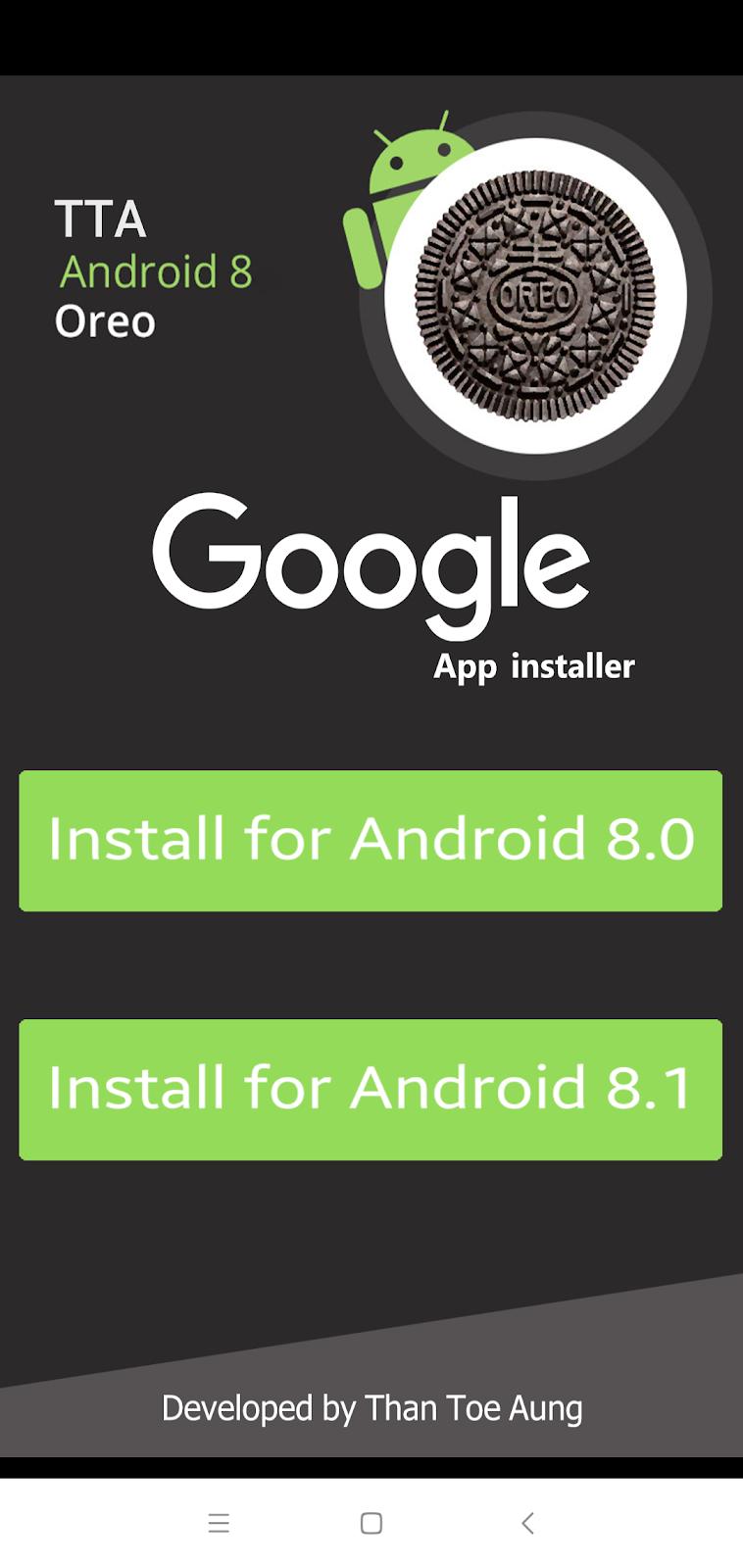 Xiaomi Google installer