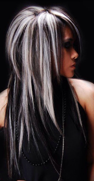 hairstyles gray hair