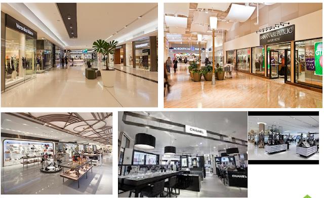 Trung tâm thương mại lớn ở tầng 1 được thiết kế sang trọng