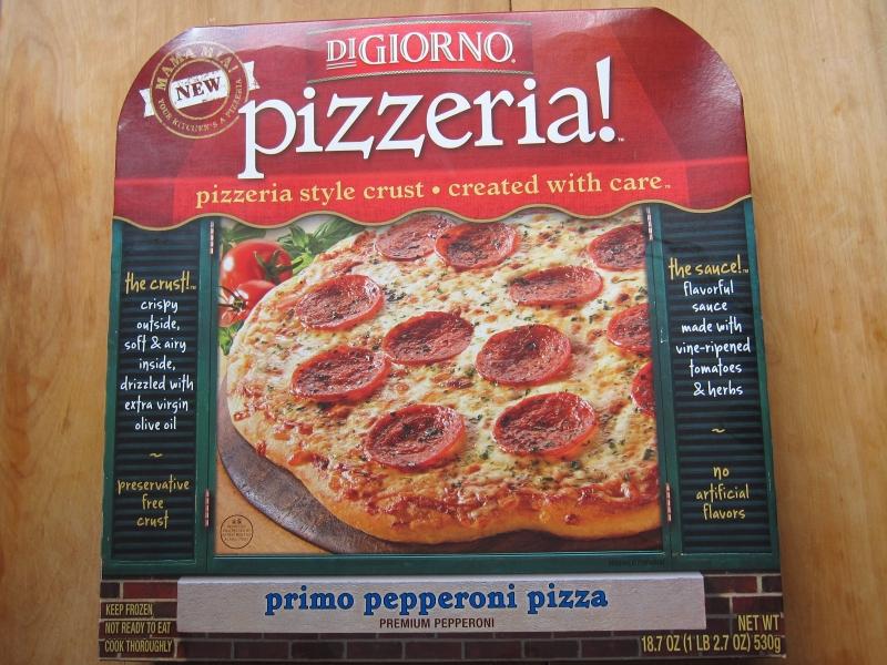 Frozen Friday Digiorno Pizzeria Primo Pepperoni Pizza Brand Eating
