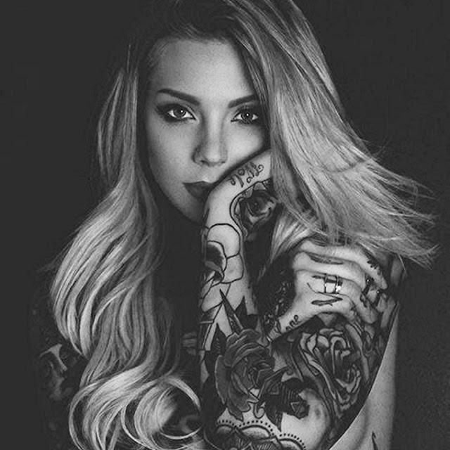 Inked girl - Tattoed lady