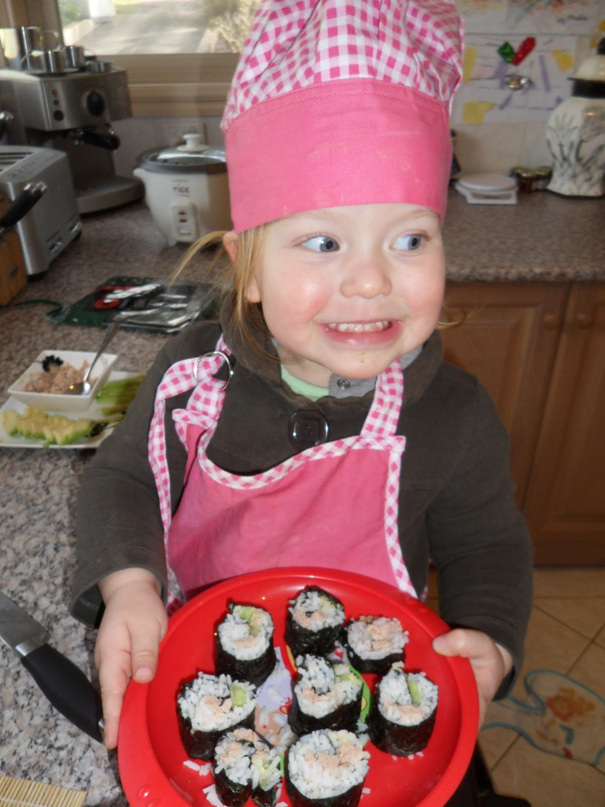 Learn With Play At Home Cooking With Kids Sushi Rolls