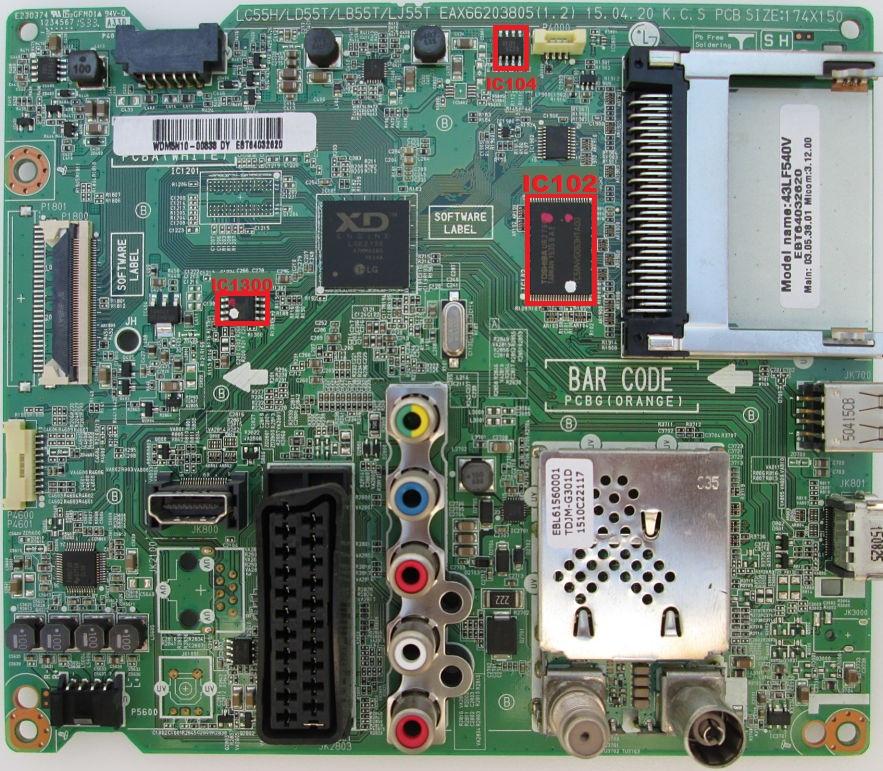 MEMORY DUMP TV: LG 43LF540V