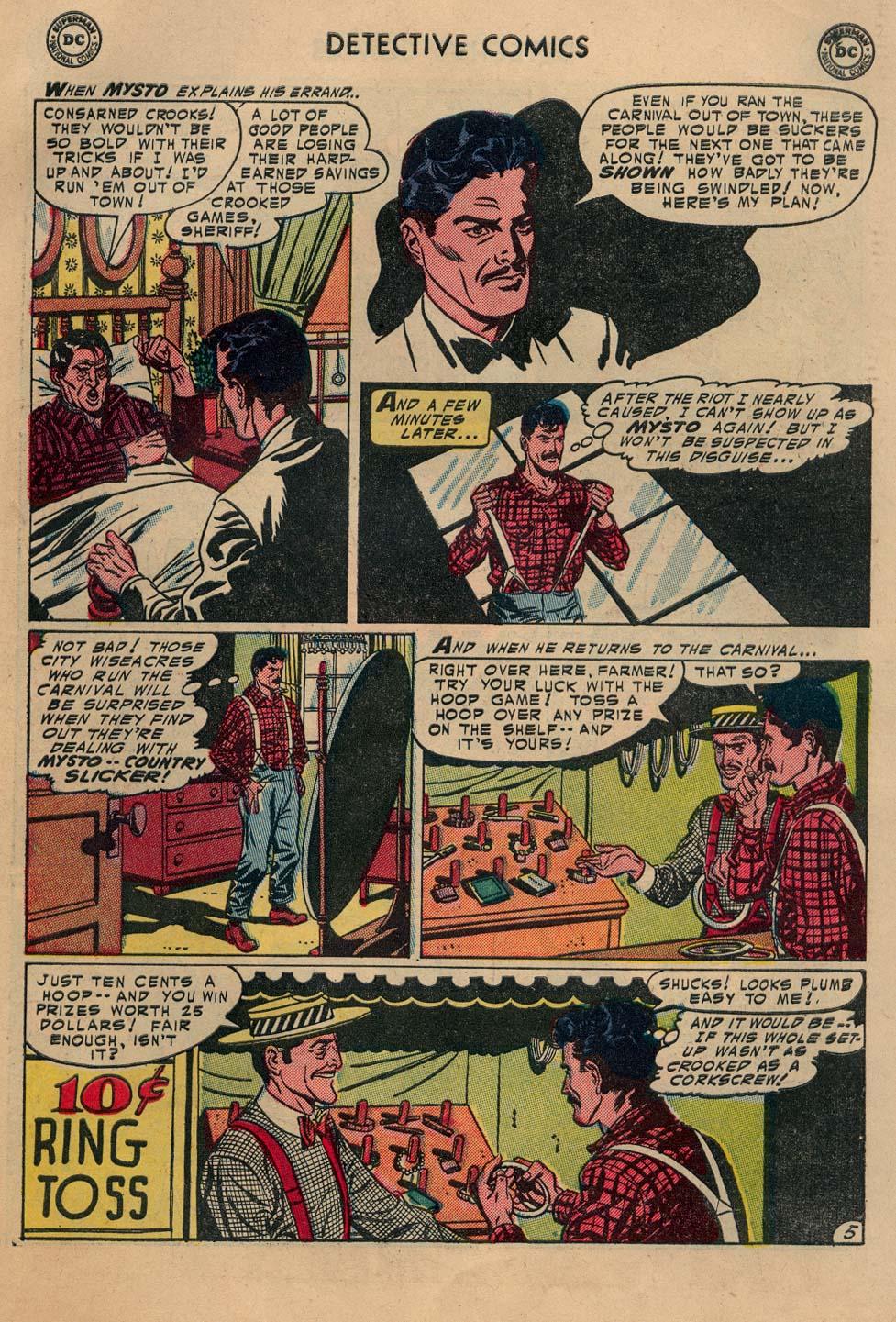 Read online Detective Comics (1937) comic -  Issue #212 - 24