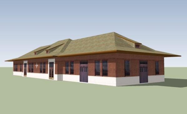 أداوت التصميم في  برنامج SketchUp لتصميم المباني والمجسمات ثلاثية الأبعاد 3D