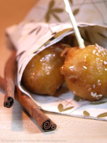 loukoumades lokma mini pączki greckie