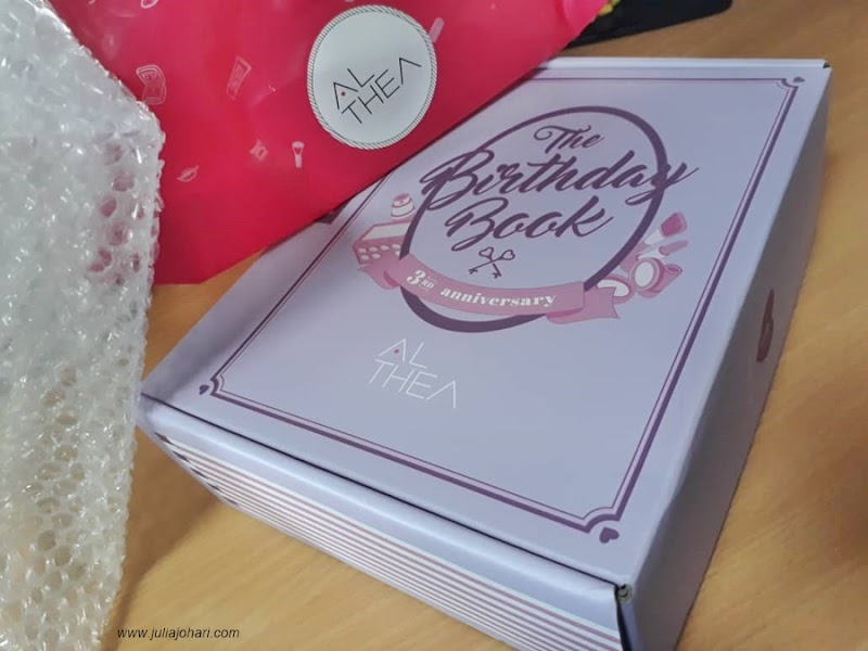 ALTHEA Angel Gift Makeup Drugstore : The Birthday Book Turns 3 !