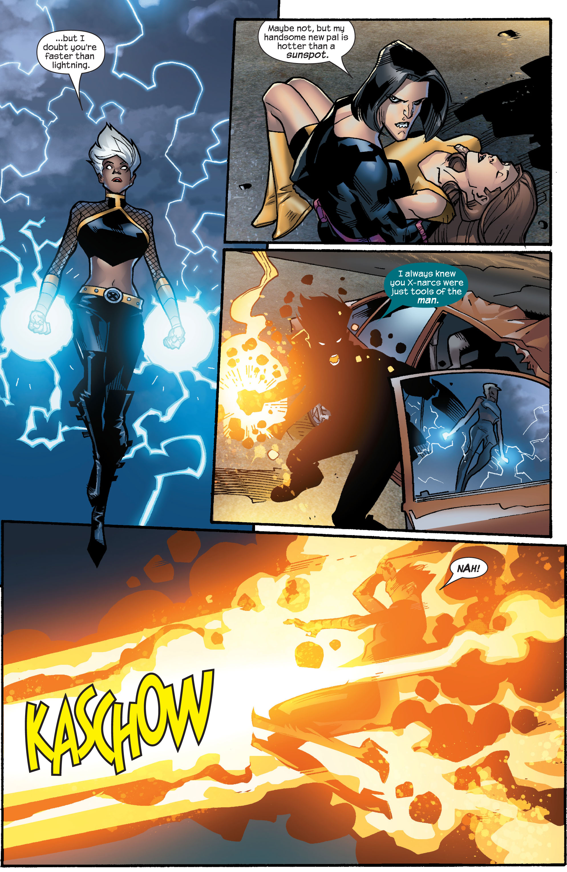 Read online Ultimate X-Men comic -  Issue #63 - 14