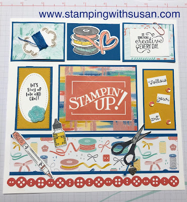 Stampin' Up! Follow Your Art Suite, www.stampingwithsusan.com, Follow Your Art Embellishment Kit, It Starts with Art Bundle, Follow Your Art Designer Series Paper