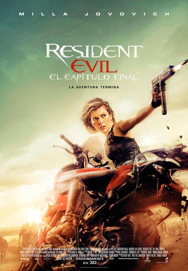 Cartel Resident Evil: El capítulo final