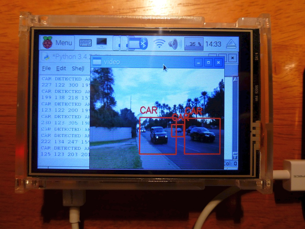 One Speed: Go!: Vehicle Detection for Cyclists Using a Raspberry Pi