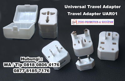 Jual Universal Travel Adapter - Travel Adapter UAR01