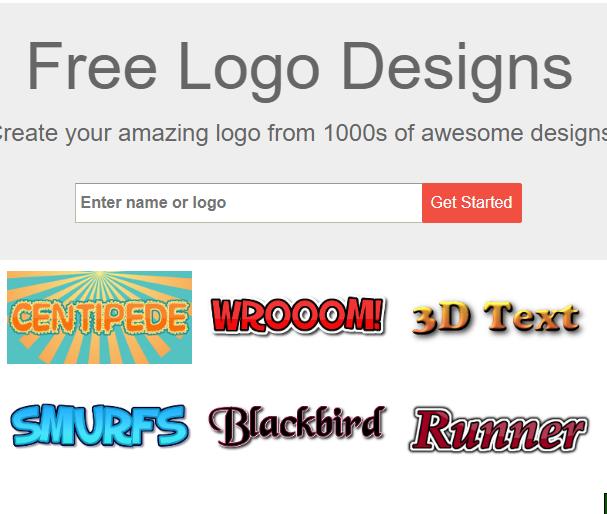 4 مواقع مميزة لتصميم الشعارات المجانيه