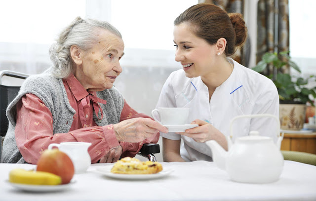 Ajudante de Lar Apoio a idosos
